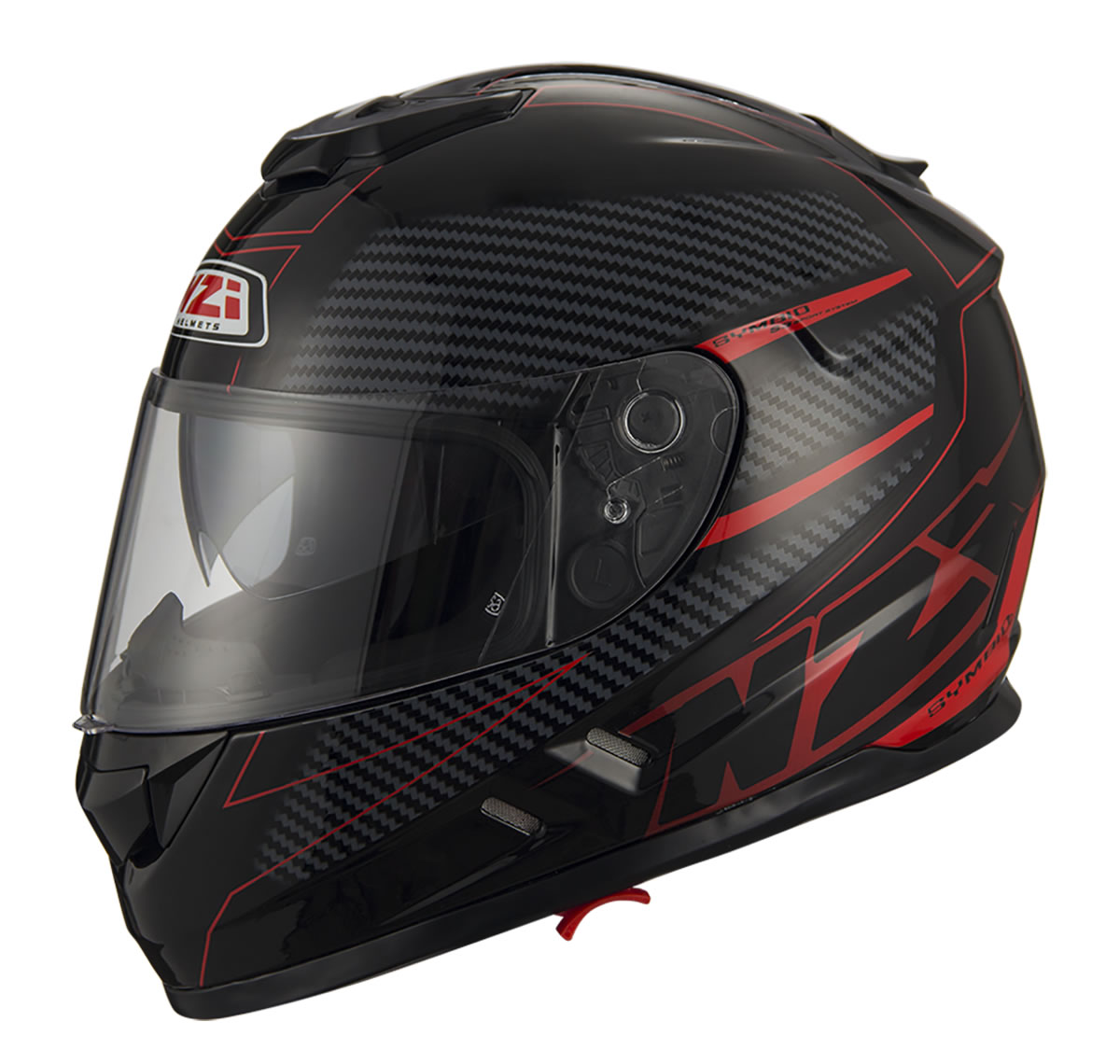 Fiber Volt Black Red