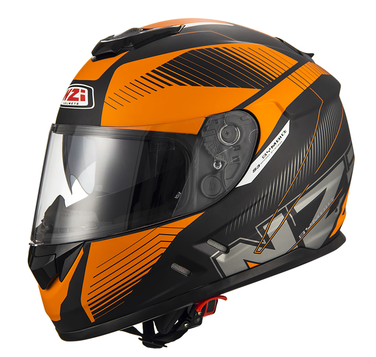 Indy Black Orange